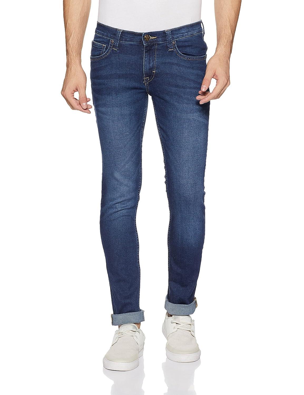 Lee Men's (Low Bruce) Skinny Fit Low Rise Jeans