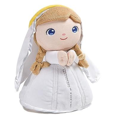 Jesusito de mi vida Peluche Virgen María Oración Ave María 7 Idiomas 22 cm. (Ref. 2003): Juguetes y juegos