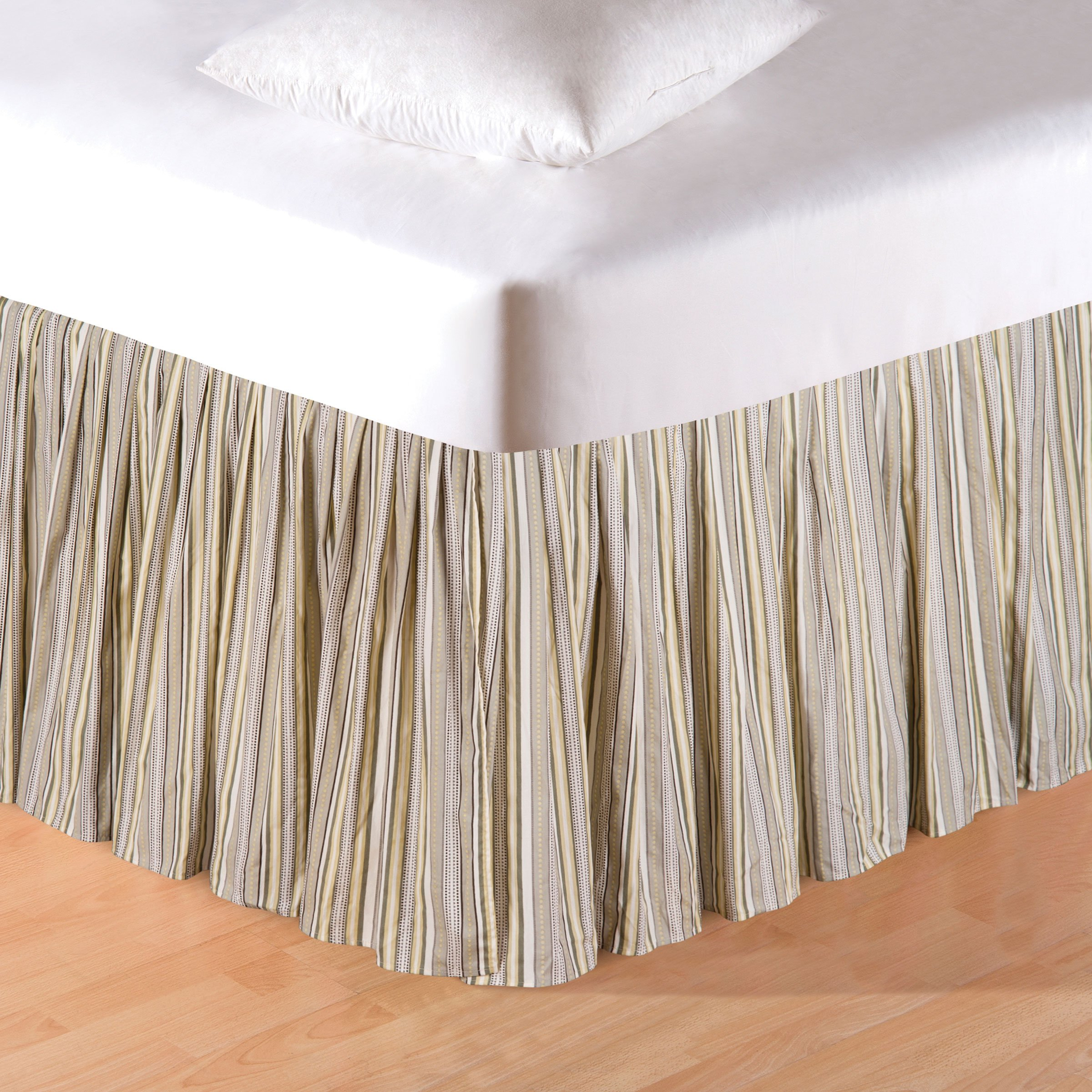 78X80+18'' King Bed Skirt/Dust Ruffle , NOTTINGHAM