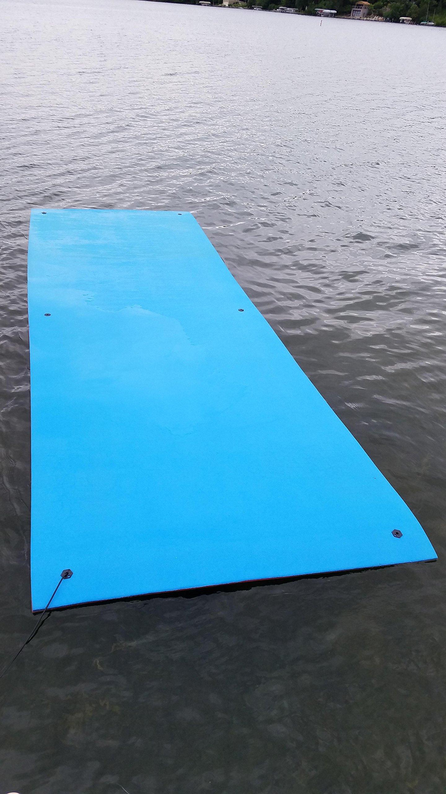 Vico Marine Floating Foam Pad - Red/Blue by Vico Marine (Image #3)