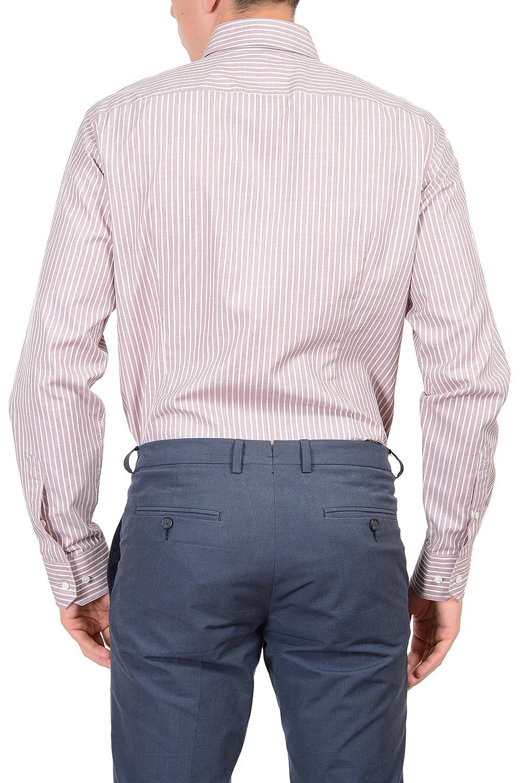 a041bfa5 Hugo Boss Boss Selection Men's Multi-Color Dress Shirt US 15 3/4 IT 40 at  Amazon Men's Clothing store: