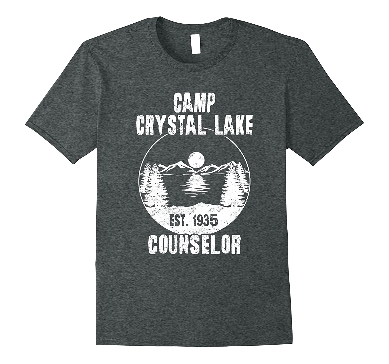 Crystal Lake Counselor Vintage Retro Style Shirt-FL