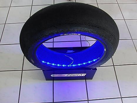Pneumatici da corsa per moto gp superbike slick con illuminazione a