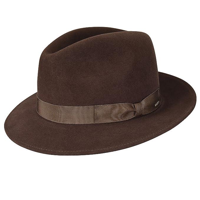 Bailey of Hollywood Hombres Sombrero de fieltro - Marrón -   Amazon.es   Ropa y accesorios 13f1060c266