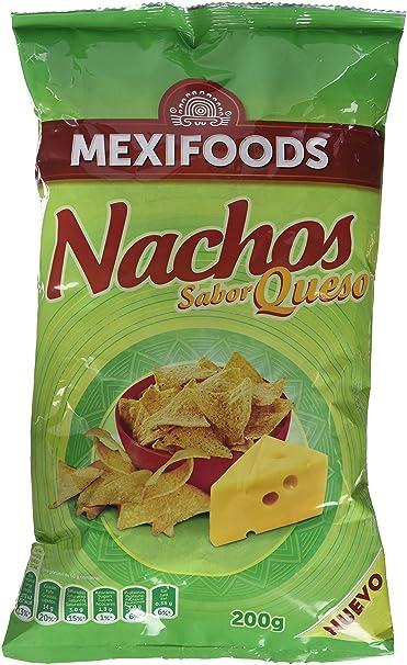 Mexifoods, Nacho (Queso) - 6 de 200 gr. (Total 1200 gr