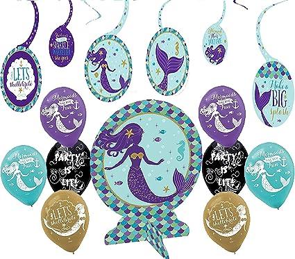 Wishful Mermaid Birthday Supplies