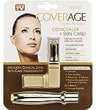 Jerome Alexander CoverAge Concealer - Under Eye Makeup to Reduce Wrinkles and Improve Skin Care