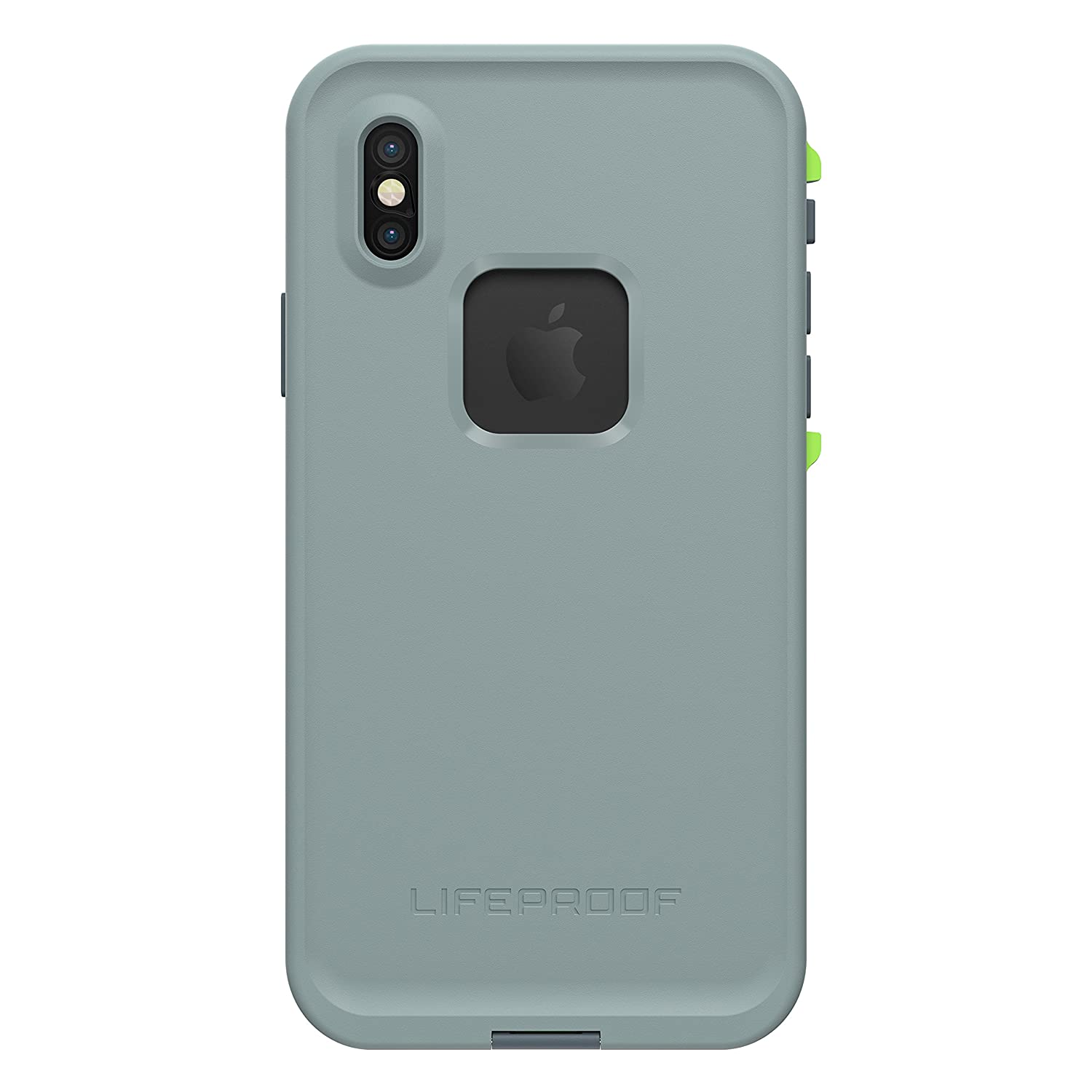 pretty nice 75d86 a0398 Lifeproof FRĒ SERIES Waterproof Case for iPhone X (ONLY) - Retail Packaging  - DROP IN (ABYSS/LIME/STORMY WEATHER)