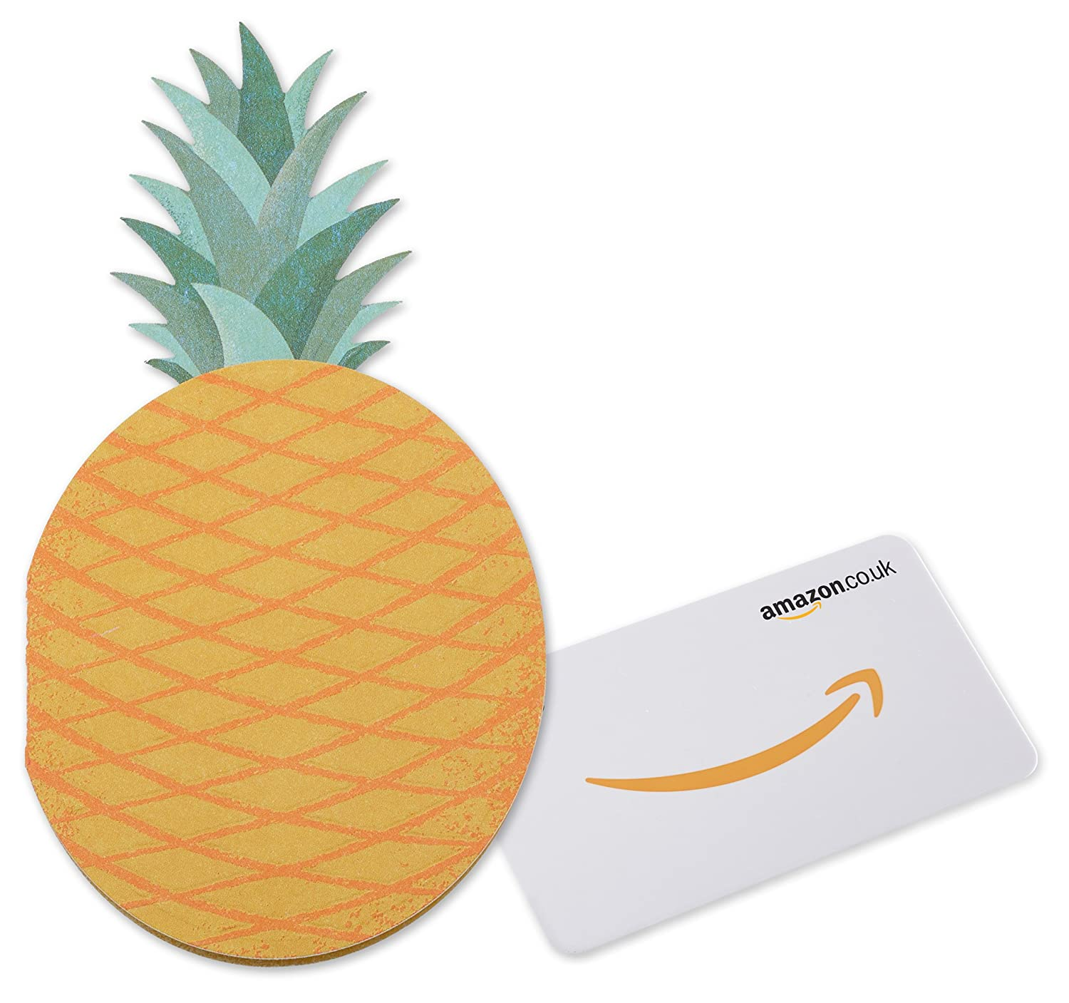 Amazon.co.uk Gift Card in a Pineapple Sleeve Amazon EU S.à.r.l. Fixed