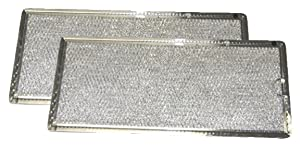 Grease Filter for GE Microwave Range Hood WB06X10596, 2 Filters