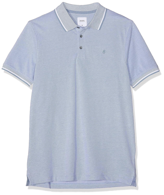 Burton Menswear London Two-Tone Pique Polo Shirt Hombre: Amazon.es ...