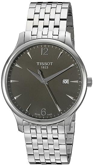 Tissot T0636101106700 - Reloj de Pulsera Hombre, Acero Inoxidable, Color Plata