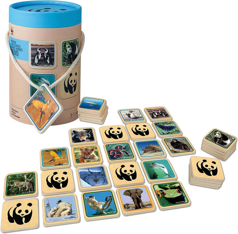 WWF - Juego de memoria Fauna Salvaje (984) , Modelos/colores ...