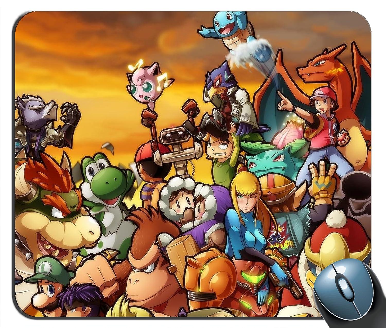 Kirby Pokemon Link Mario Pikachu Ganondorf Samus Aran Solid ...