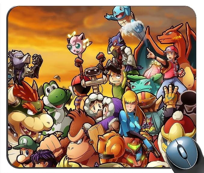 Kirby Pokemon Pikachu Ganondorf Samus Aran eslabon Mario ...