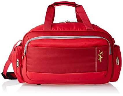7234e1a79101 Skybags Cardiff Polyester 55 Cms Red Travel Duffle (DFCAR55ERED):  Amazon.in: Bags, Wallets & Luggage