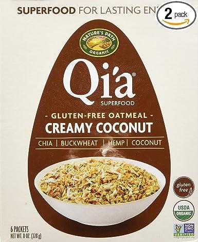 Qia Superfood Avena orgánica instantánea ...
