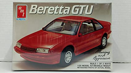 AMT 6273 1989 Beretta GTU 1:25 Scale Plastic Model Kit - Requires Assembly