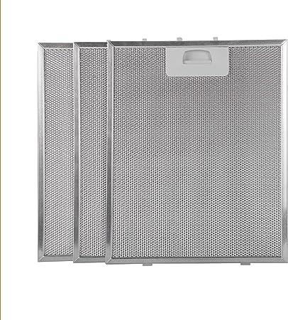 Filtro campana extractora 320x260 (paquete 3): Amazon.es: Hogar
