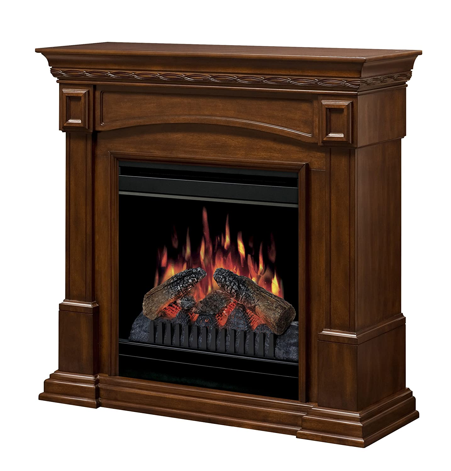 Amazon.com: Dimplex CFP3920BW 20-Inch Electric Fireplace, Burnished Walnut:  Home & Kitchen