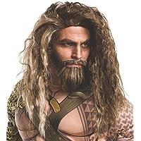 Rubie's Mens 32693 Batman V Superman: Dawn of Justice Aquaman Beard and Wig Costume Wig