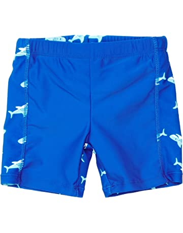 8b2b8ca36e Playshoes Boys' Uv-Schutz Shorty Hai Swim Shorts