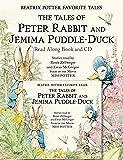 Beatrix Potter Favorite Tales Book & CD (Peter Rabbit)