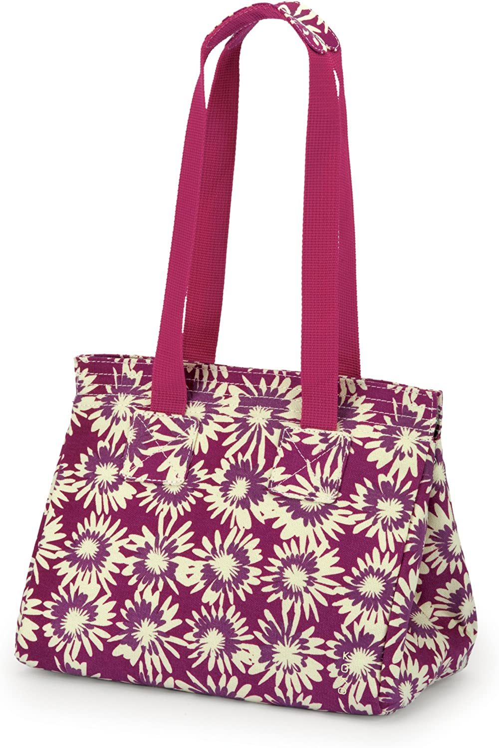 Koko Tate Lunch Bag, Pink Floral Burst Cotton