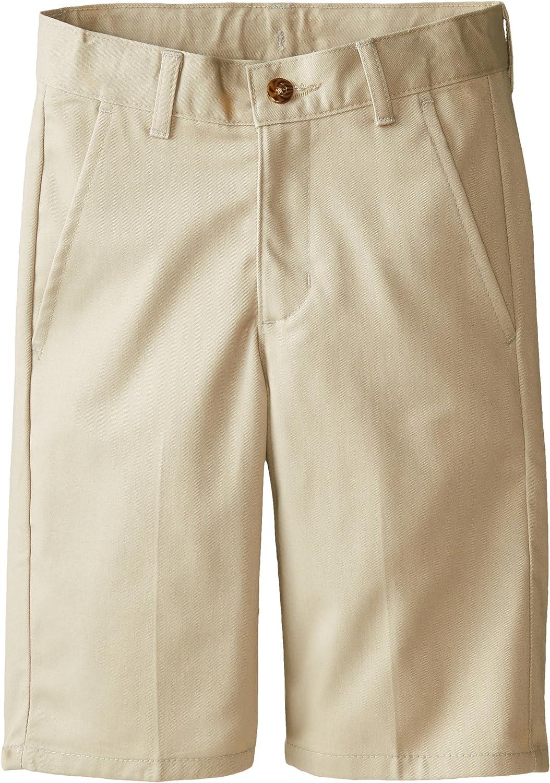 Izod Boys Flat Front Uniform Short
