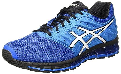 e66251626ac7 ASICS Men s Gel-Quantum 180 2 MX Directoire Blue White Black Running Shoes