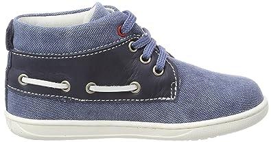 Primigi PBX 14037, Zapatillas Altas para Niños, Azul (BLU CH/Jeans 11), 26 EU