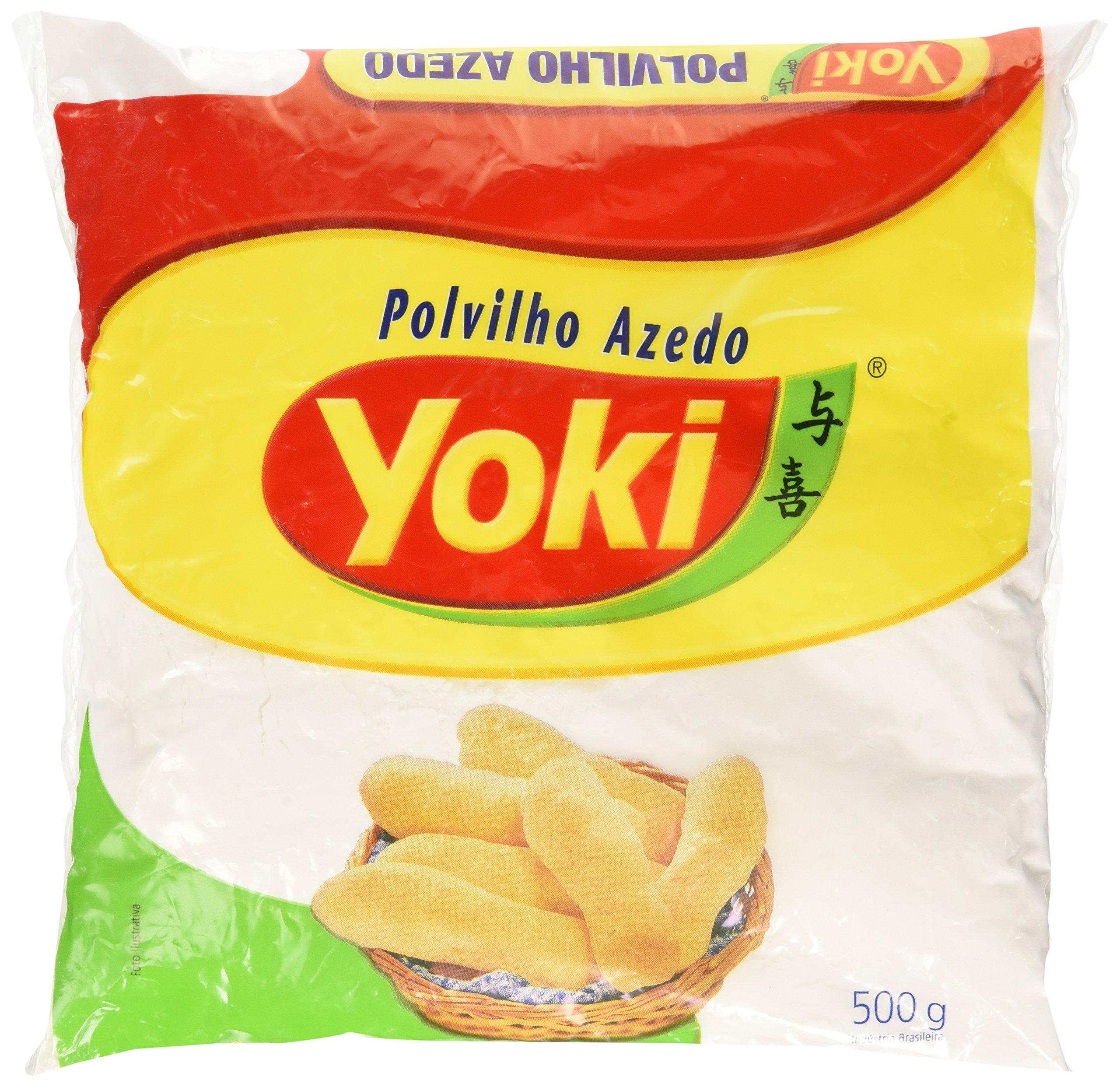 Sour Starch - Polvilho Azedo - Yoki - 17.6 (oz 500g) - GLUTEN FREE