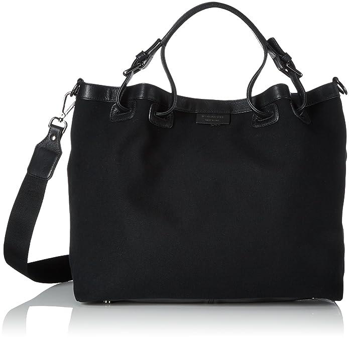 Bag Kora New, Womens Satchel, Schwarz (Black), 16x30x37 cm (B x H T) Strenesse