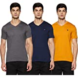 Amazon Brand - Symbol Men's Regular Fit T-Shirt (Combo Pack of 3)