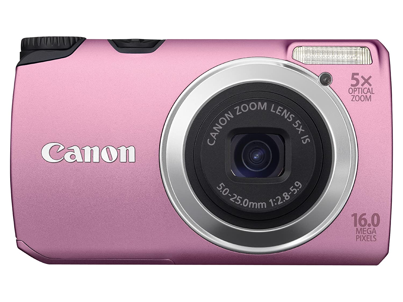 Canon PowerShot A3300 IS - Cámara Digital Compacta 16 MP (3 pulgadas ...