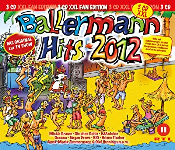 ballermann hits 2013 xxl