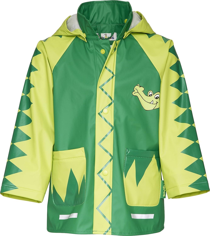 Playshoes Crocodile Boy's Rain Coat Crocodile Rain Jacket