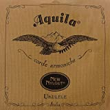 Aquila New Nylgut AQ-4 Soprano Ukulele Strings - High G - Set of 4 Strings