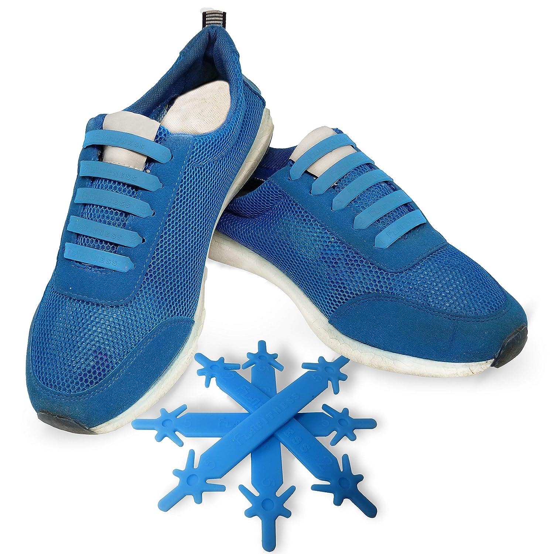 00787225657b Amazon.com  SILICONE LACES - Elastic No Tie Shoelaces
