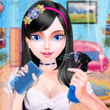 High School Girls House Cleanup And Decoration Game for girls - Full House cleaning game for kids