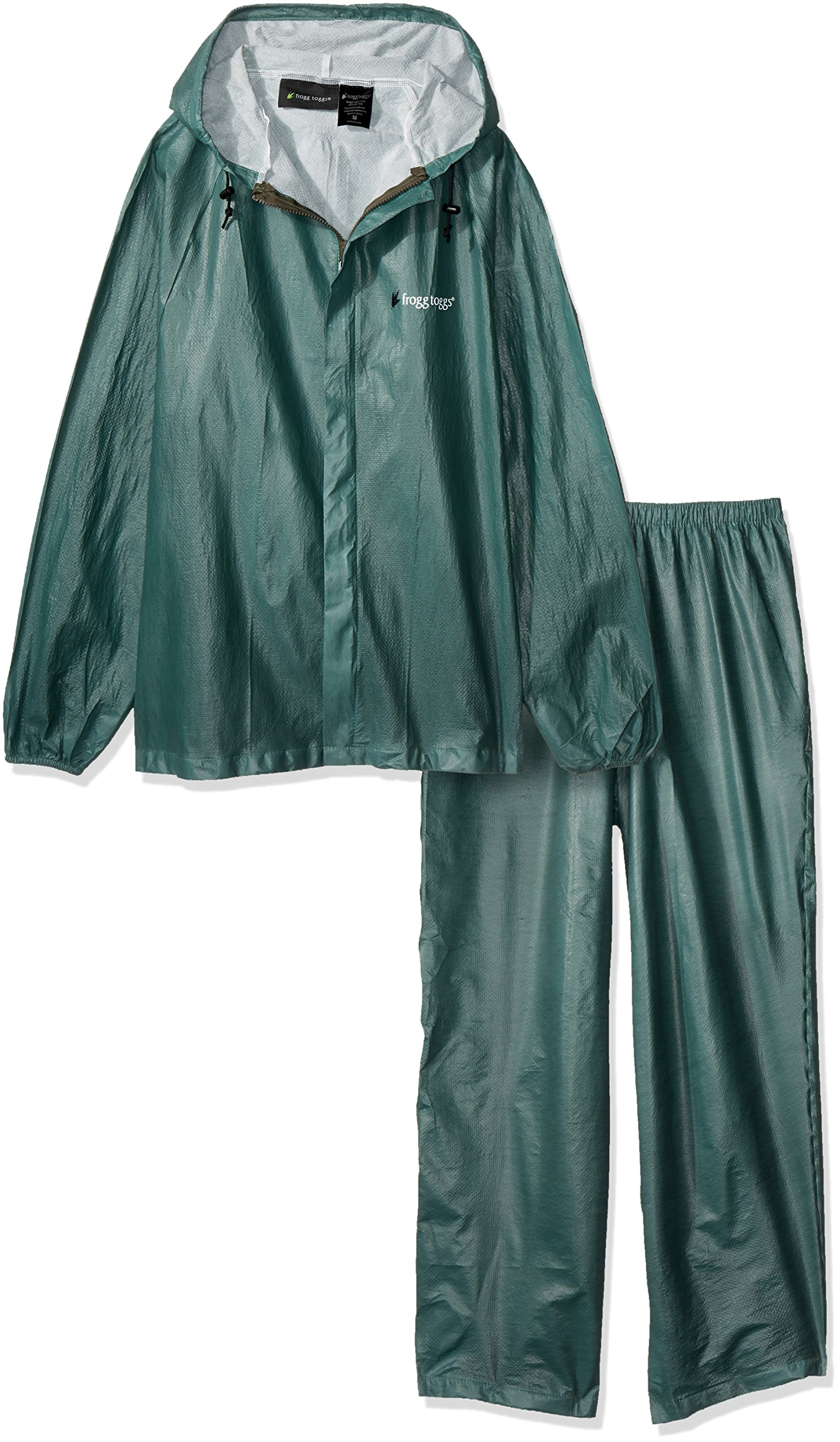 Frogg Toggs Ultra-lite2 Rain Suit W/stuff Sack - Xx-large, Royal Green