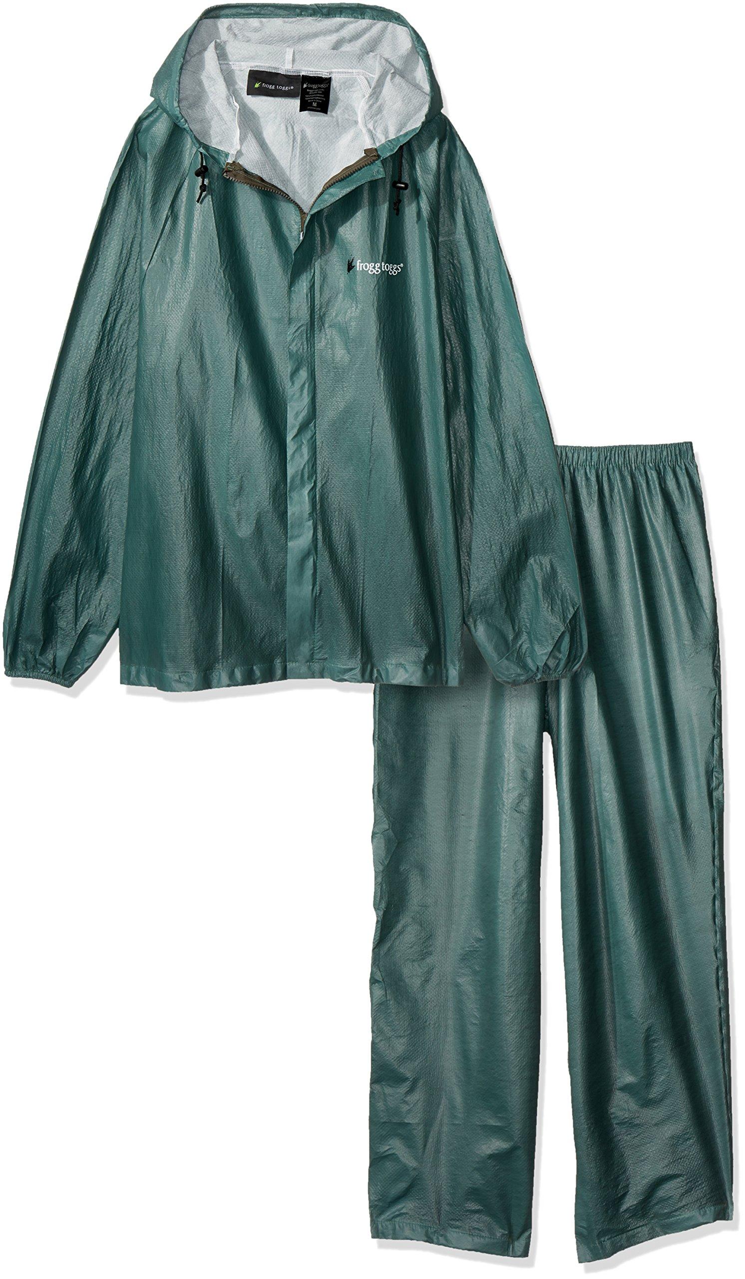 Frogg Toggs Ultra-lite2 Rain Suit W/stuff Sack - X-large, Royal Green