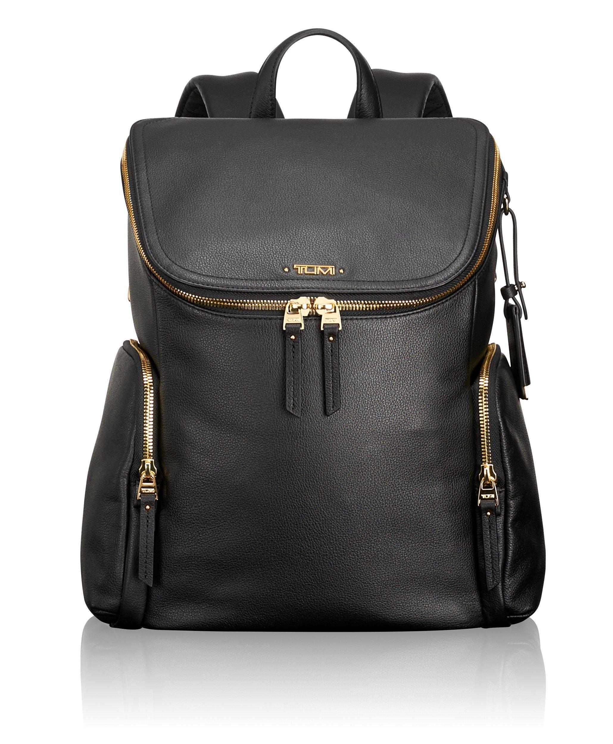Tumi Women's Voyageur Lexa Zip Flap Backpack, Black One Size