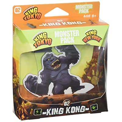 IELLO Monster Pack - King Kong Expansion Board Game: Toys & Games