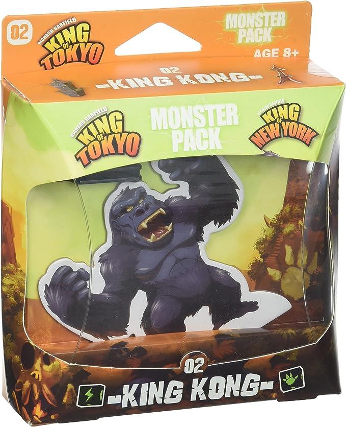 Iello IEL51421 King of Tokyo Monster - Juego de construcción de ...