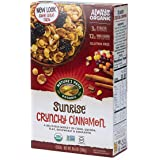 Nature's Path Sunrise Organic Gluten Free Cereal, Crunchy Cinnamon, 10.6 Oz Box