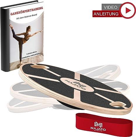 Balance Board Balancekissen Wackelbrett Physio Therapie Sport Fitness Trainer
