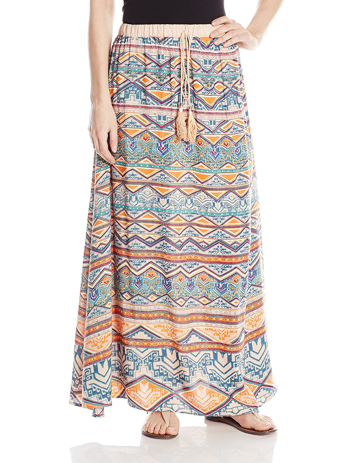 Angie Juniors' Maxi Skirt Angie Juniors' Maxi Skirt B6207-FK36