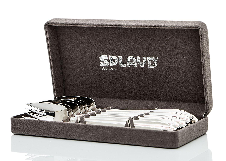Splayd Spork Gift Box Mirror Finish Foon Set of 6