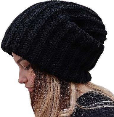 Winter Warm Unisex Women Men Knit Ski Crochet Slouch Cap Beanie Hip-Hop Hat HC